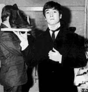 John Lennon Beatles Boots Messy Streets 1